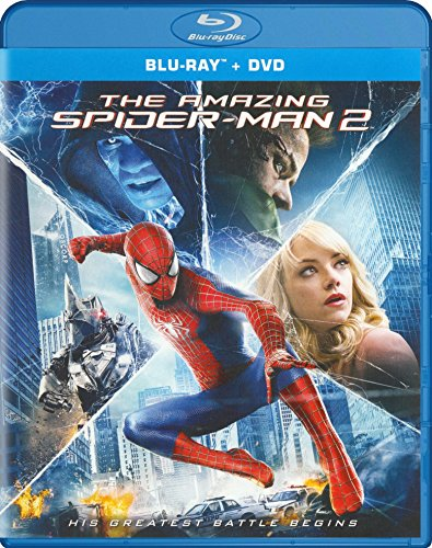 Blu-ray : The Amazing Spider-Man 2 (With DVD, Ultraviolet Digital Copy, 3 Pack, 3 Disc)