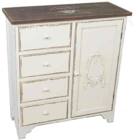 Clayre & Eef, Vintage Kommode Shabby Chic