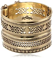 "Lucky Brand Tribal Hinge Cuff Bracelet, 2.25"" by Lucky Brand"