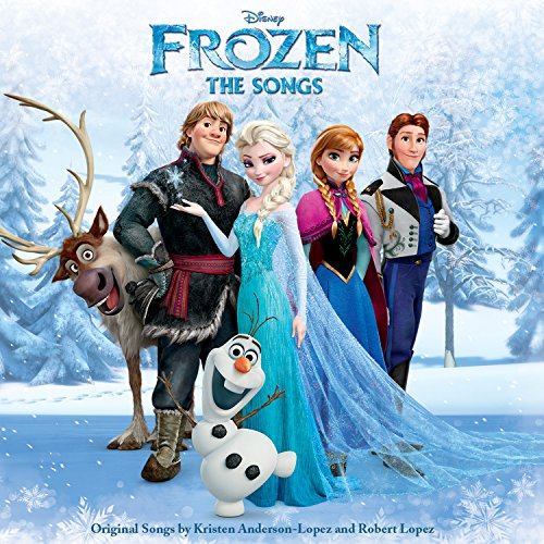 Original album cover of Frozen: The Songs by Various