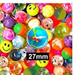 50 SUPER BOUNCE BOUNCY BALL JET BALLS...