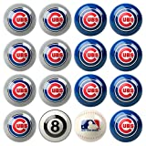 MLB Chicago Cubs Home Versus Away Team Billiard 8-Ball Set
