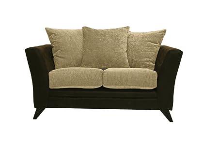 Essex 2-asiento en color crema sofá de tela