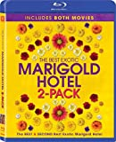 The Best Exotic Marigold Hotel 2-Pack (Region A Blu-Ray) (Hong Kong Version / Chinese subtitled) 2 Movie Set