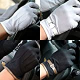 超 薄手 春夏 UV 対策 メッシュ グローブ 手袋 タッチ パネル 可 滑り止め 付 サイクリング ドライブ