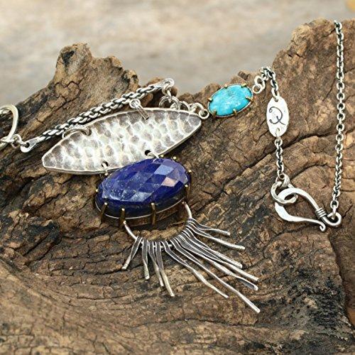 lapis-pendant-necklace-with-huge-gemstone-and-turquoise-side-set-secondary-gemstone