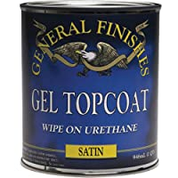 General Finishes, Clear Satin Topcoat Gel