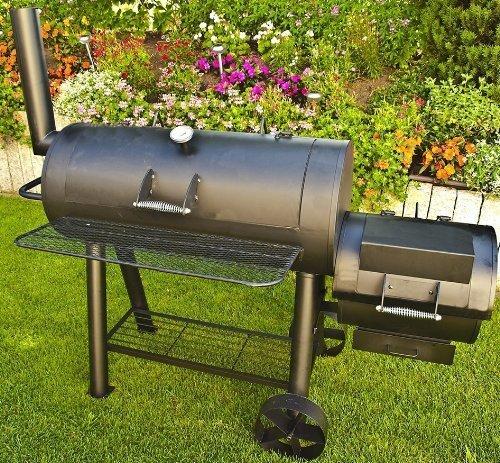 77kg-Profi Super XXL Smoker, BBQ Grillwagen für den Profi inkl. Grillreinigungs + Aschesauger günstig kaufen