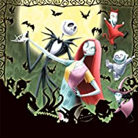 Nightmare Before Christmas 2011 Lenticular Wall Calendar