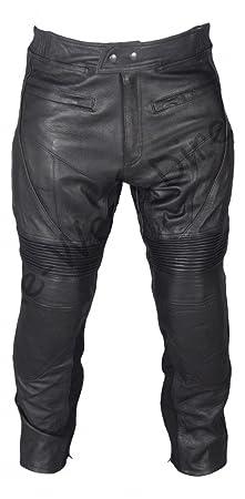 Blindé de peau de vache en cuir Pantalons moto Cruiser