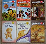 img - for I Can Read! Set of 6 Books (Biscuit ~ Biscuit and the Baby ~ Surf's Up! Island Adventures ~ In a Dark, Dark Room and Other Scary Stories ~ Bee Movie: Barry's Buzzy World ~ The Day the Dinosaurs Died) book / textbook / text book