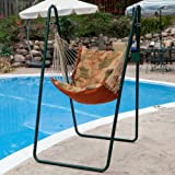 Algoma 1525-6683BR Swing Chair Combination with Brass Colored Stand