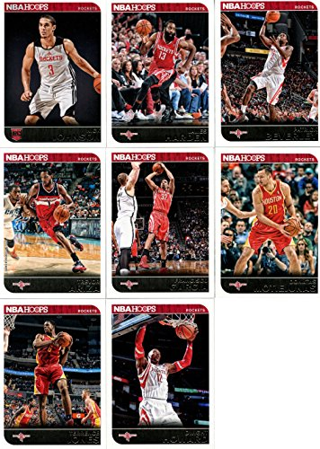 Houston Rockets Brand New 2014 2015 Hoops Basketball Factory Sealed NBA Licensed 8 Card Team Set with James Harden Dwight Howard Plus los angeles clippers 2014 2015 hoops basketball nba licensed factory sealed 8 card team set with blake griffin chris paul and more