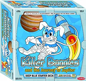 Killer Bunnies Jupiter Blue Starter Card Game