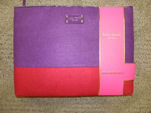 Amazon.com: Kate Spade Laptop Sleeve For Macbook 15""