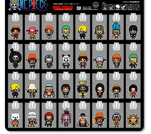 One piece x Panson Works 《 32 type'mini sticker anime character STICKER store ☆☆