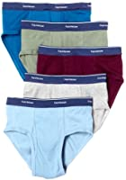 Fruit of the Loom Men's 5-Pack Low Rise Brief - Colors May Vary