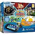 Console Playstation Vita 2000 + Voucher Heroes Mega Pack + Carte M�moire 8 Go