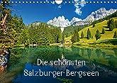 Die schönsten Salzburger Bergseen  Wandkalender