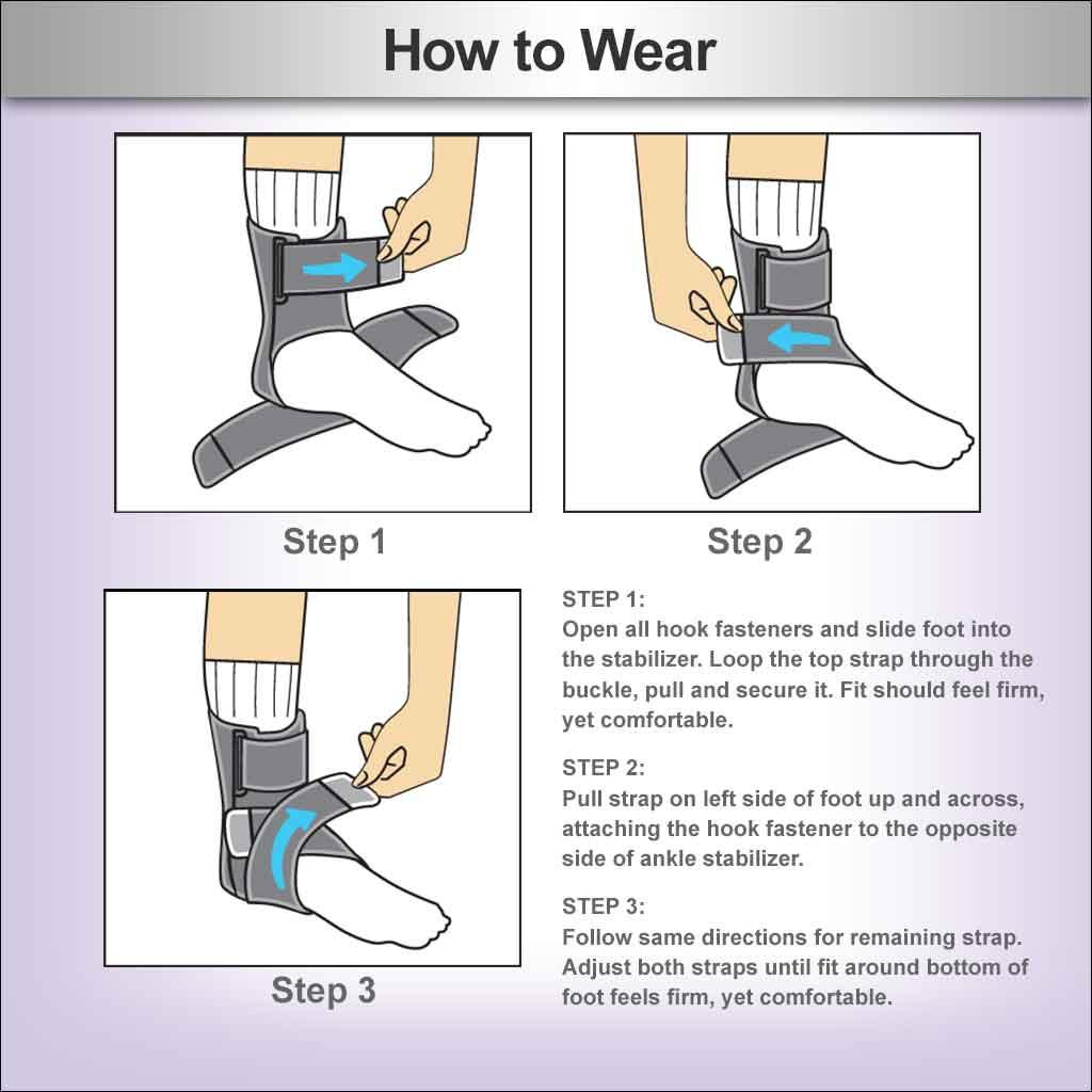 Amazon.com: ACE Deluxe Ankle Stabilizer: Health & Personal