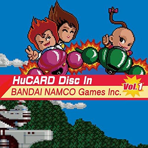 HuCARD Disc In BANDAI NAMCO Games Inc.Vol.1/ナムコのPCエンジンタイトルを収録したサウンドトラック第1弾!