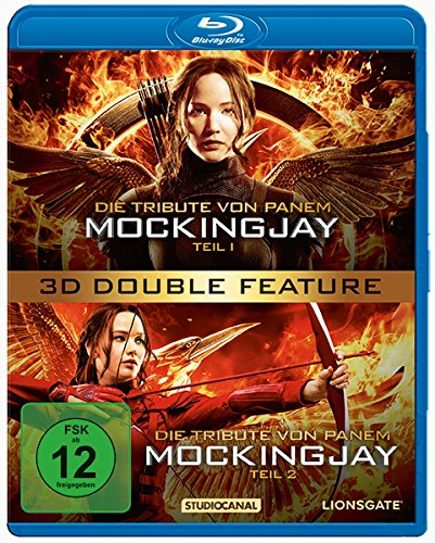 Die Tribute von Panem - Mockingjay Teil 1+2 [3D Blu-ray]