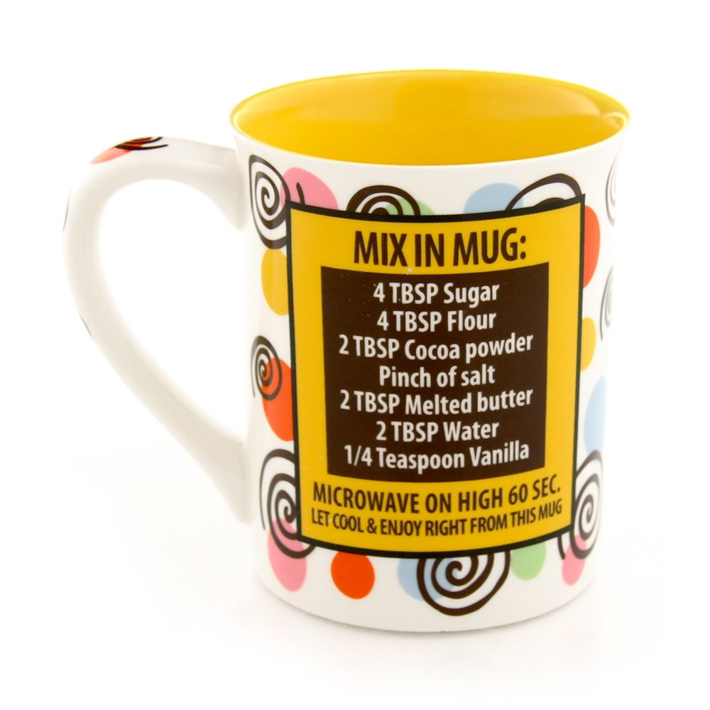 Our Name Is Mud 16-Ounce 'Happy Birthday Cake' Mug #357351
