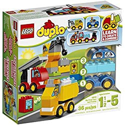 LEGO DUPLO 10816 My First Cars and Trucks Educational Preschool Toy Building Blocks For Your Toddler