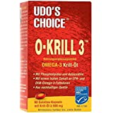 Udos Choice O-Krill 3 - Pure Omega 3 Krill Oil - 60 x 500mg Softgels