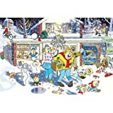 Jumbo 17307 Wasgij Christmas 9: A Bright Christmas Night Puzzle - 1000 Pieces