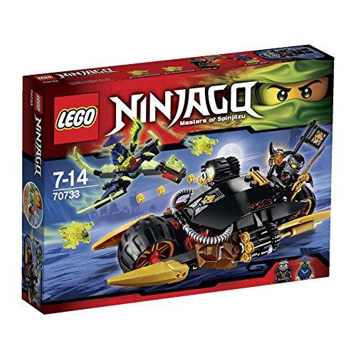 レゴ ニンジャゴー ダブルブラスターバイク 70733