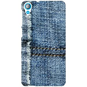 HTC Desire 820Q Back Cover - Jeans Print Designer Cases
