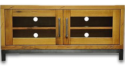 Ultimum Industrial Style Oak Standard TV Unit