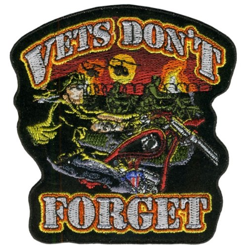 Hot Leathers Vets Don'T Forget Patch (4