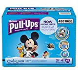 Pull-Ups Training Pants with Cool Alert for Girls, 62 Count