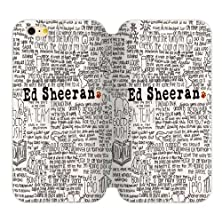 buy Generic Ed Sheeran Quotes Tpu Back Cover Case And High Grade Pu Leather For Iphone6 Plus 4.7 Aci-65