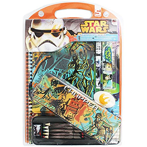 Disney Star Wars gigante Set da scrittura 12pezzi