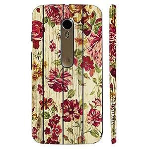 Enthopia Designer Hardshell Case Pretty Pink Back Cover for Motorola Moto X Style