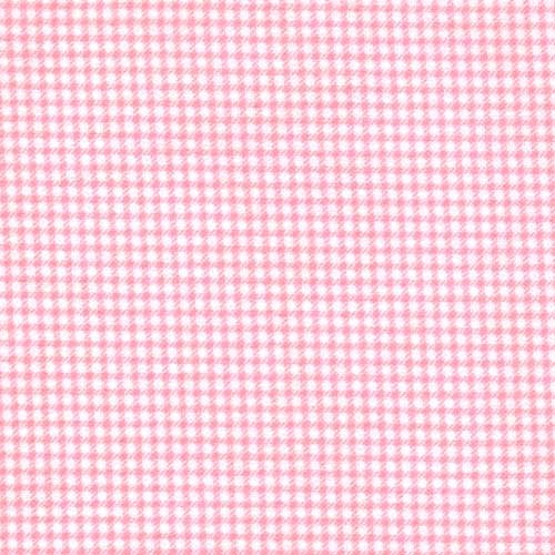 Baby flannel pink gingham 100 cotton flannel baby fabric for Baby fabric by the yard