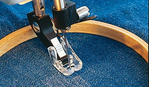 Viking Husqvarna Snap on Darning/Quilting Foot #411739045 (Cat 1, 2, 3, 4) (Viking Quilting Foot compare prices)