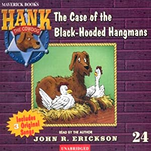 The Case of the Black Hooded Hangmans Audiobook