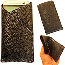 Micromax Canvas Turbo A250 - Pu Leather Mobile Pouch Cover Soft & Flexible (Be Unique Buy Unique) Buy It Now By Star Diamond