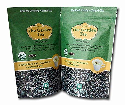 Thai Tea Suwirun,The Garden Lemongrass-Pandan Tea.