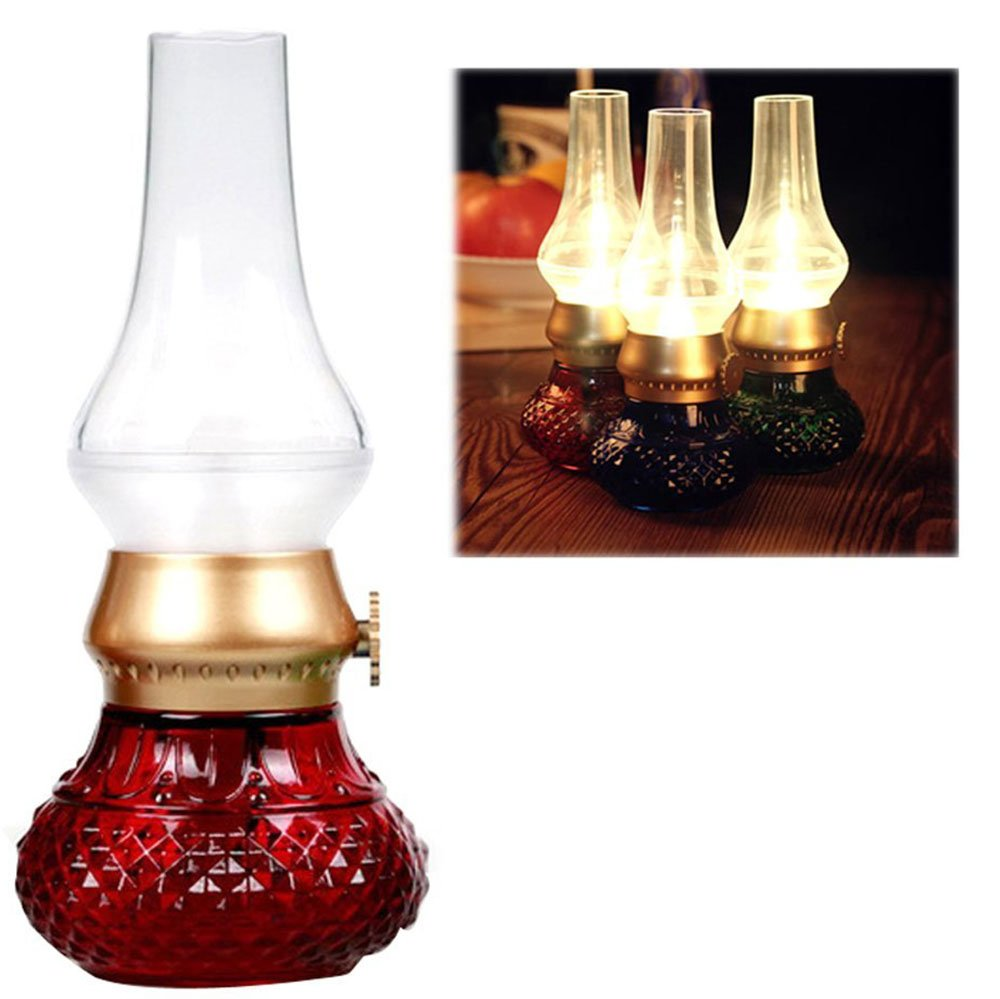 Anpress Decorative Rechargeable Flameless Candle Lantern