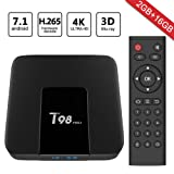 Greatever 2018 Newest T98 pro Android 7.1 TV Box 2GB+16GB with 3D/4K/WiFi/H.265 Smart TV Box