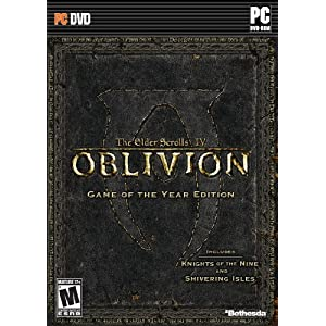 Oblivion Game of the Year Edition Video Game for Windows