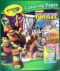 Amazon Crayola Teenage Mutant