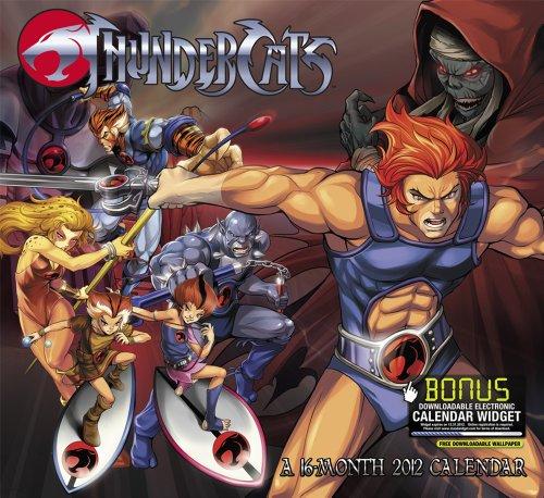Thundercats 2012 Calendar: Includes Bonus Downloadable Electronic Calendar Widget
