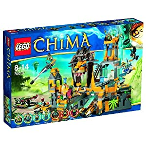 Lego Legends of Chima 70010 - Der Löwen-CHI-Tempel