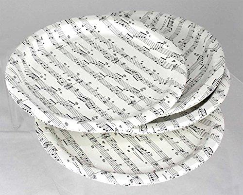Pappteller-Notenlinien-16-Stck-Schnes-Geschenk-fr-Musiker